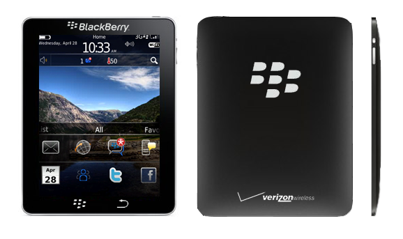 Ein Photoshop-Fake des BlackBerry Tablets