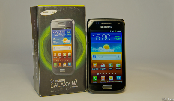 [Video] Samsung Galaxy W Wonder Unboxing