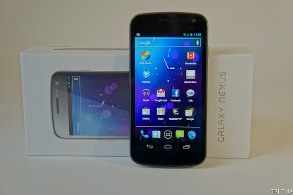 [Video] Samsung Galaxy Nexus Unboxing
