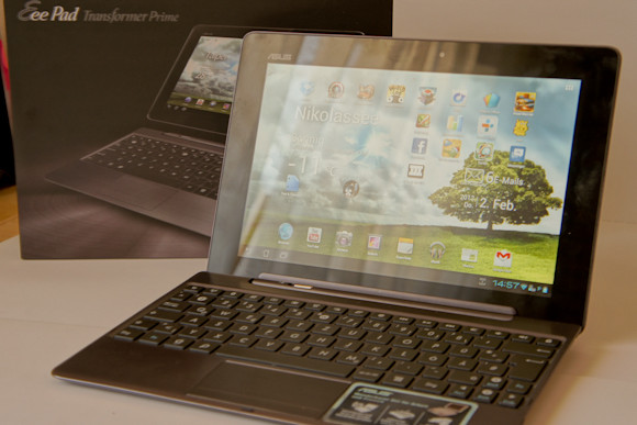 ASUS EeePad Transformer Prime Video-Review + alle Videos!