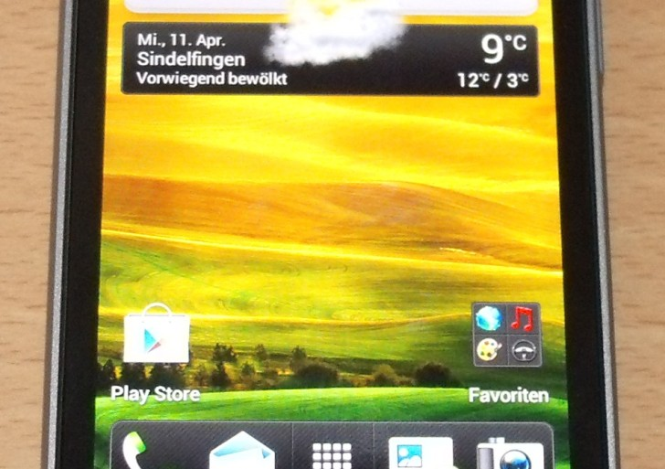 HTC One V bei uns angekommen!