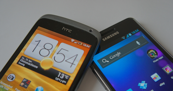 Benchmark-Vergleich: HTC One S vs. Galaxy S2 [Video]