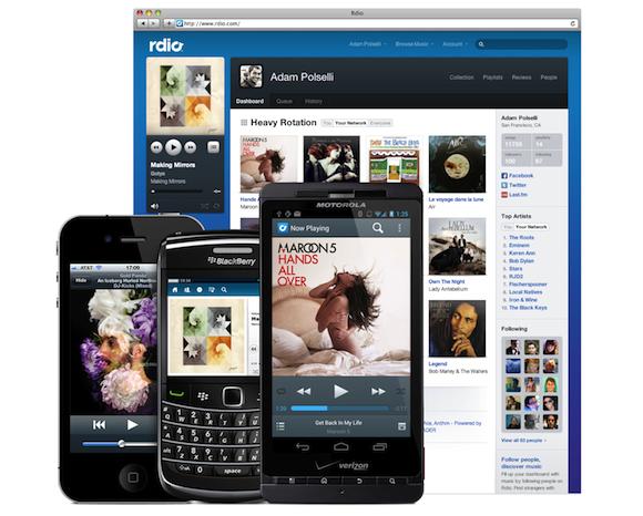 rdio: Ein Erfahrungsbericht
