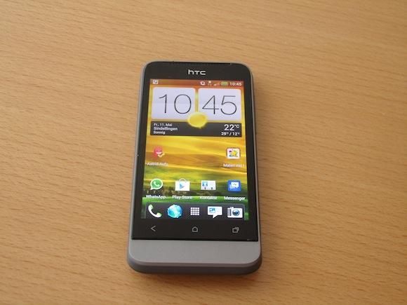 Das HTC One V testet sich selber!