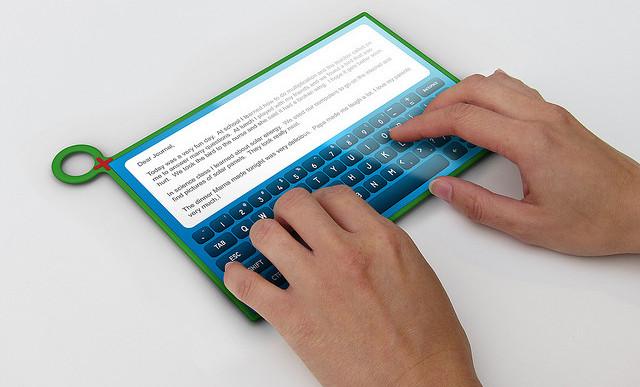 Empfehlung: Arbeiten mit dem Tablet