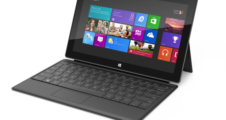 Microsoft stellt Surface Tablets mit Windows 8 vor