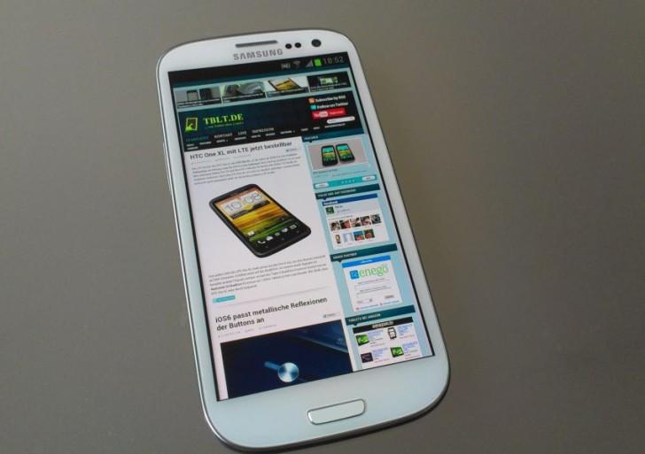 Samsung Galaxy SIII – erste Erfahrungen