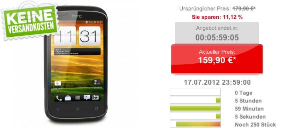 Günstiges Angebot: HTC Desire C für nur 159€