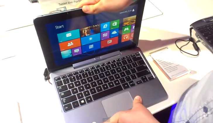 Video: Erstes ATIV smartPC Tablet Kurztest