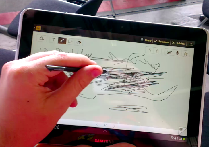 Video: Samsung Galaxy Tab 10.1 N funktioniert mit S-Pen! (Update)