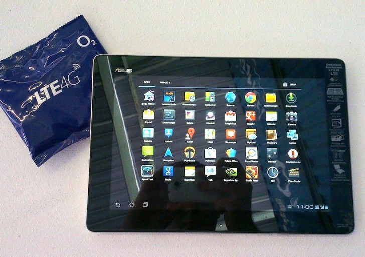 Video: ASUS Transformer TF300TL mit LTE im Hands-On