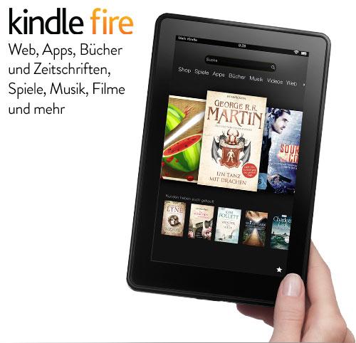 Kindle Fire (HD) kommt mit geschlossenem Bootloader
