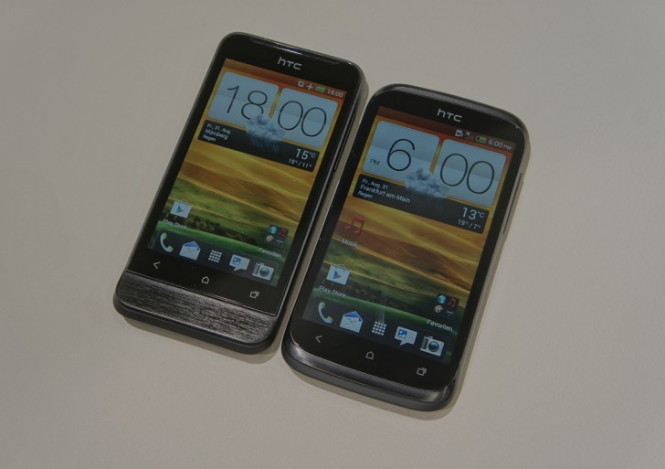 Vergleich: HTC Desire X vs. One V (Video)