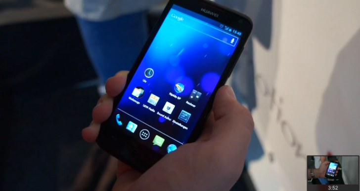 Video-Kurztest: Huawei Ascend D1 Quad XL