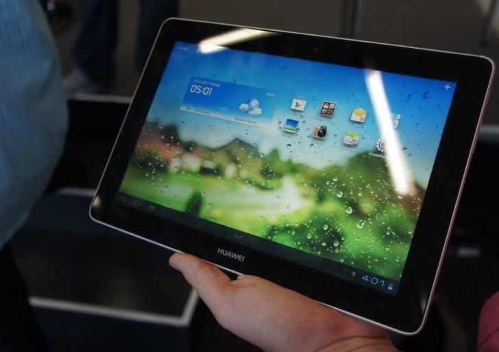 Video-Kurztest: Huawei MediaPad 10FHD mit FullHD Display