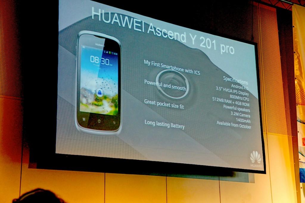 Video-Kurztest: Huawei Ascend Y201 Pro
