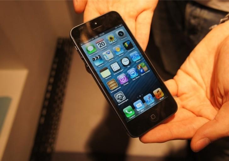 iPhone 5 Telekom LTE Geschwindigkeitstest