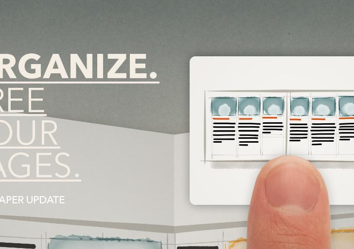 Paper iPad App bekommt Update – Organize!