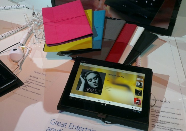 Video-Kurztest: Sony Tablet S & Zubehör (Modell 2012)