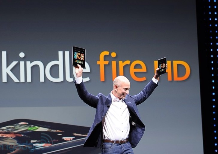 Vergleich: Kindle Fire, HD, LTE vs. Nexus 7