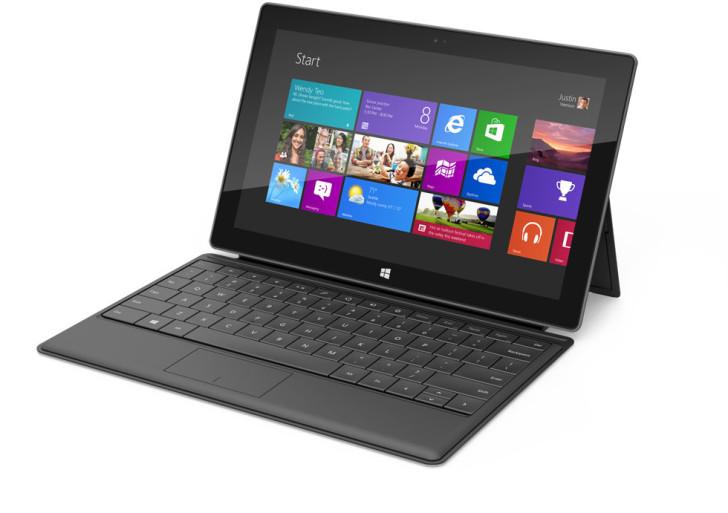 Microsoft Surface erscheint auch in Deutschland