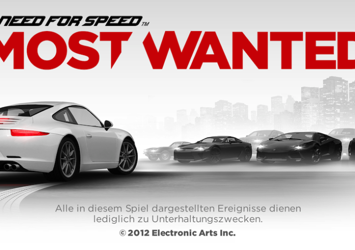 Need for Speed Most Wanted für Android und iOS verfügbar – Video!