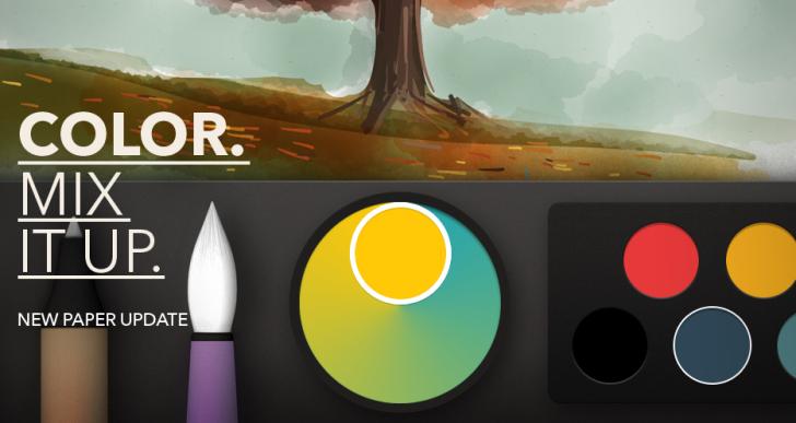Paper für iPad erhält Farben-Update