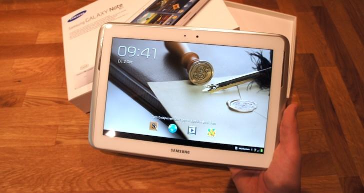 Samsung Galaxy Note 10.1 Testbericht