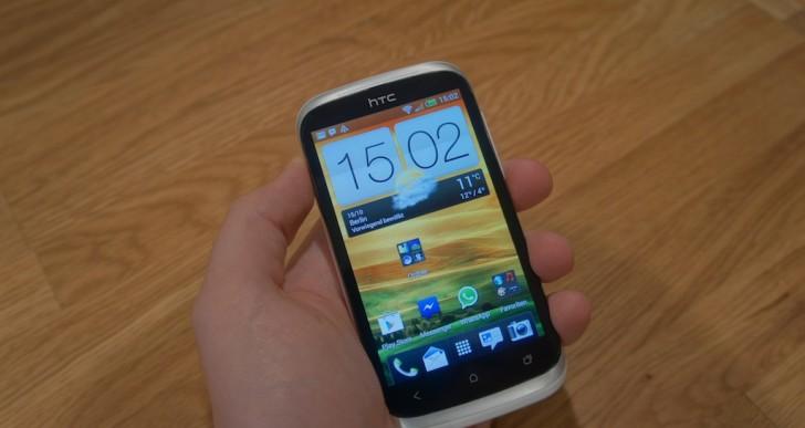 HTC Desire X ausgepackt und Benchmarks
