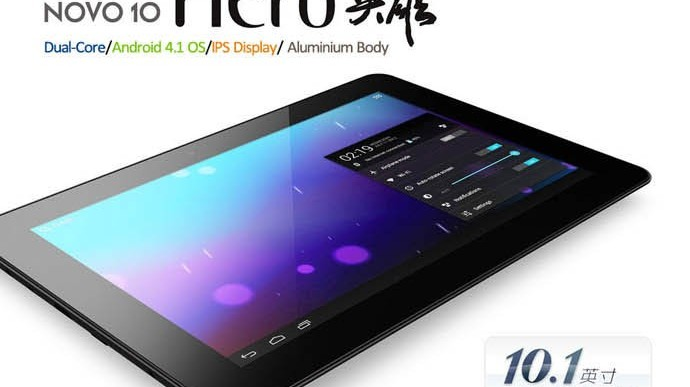 Ainol Novo 10″ Hero 1 & 2: günstige Tablets ab 199€!
