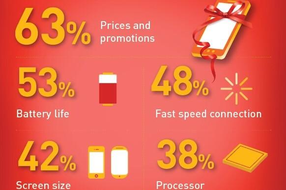 Infografik: Worauf Weihnachtskäufer beim Online-Einkauf achten