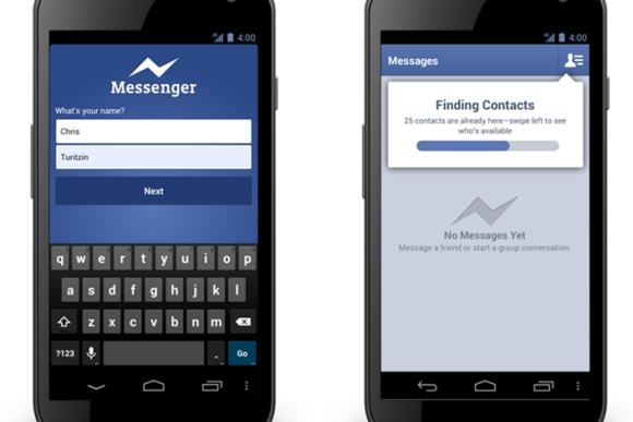 Neue Konkurrenz für WhatsApp: Facebook-Messenger jetzt auch ohne Account nutzbar