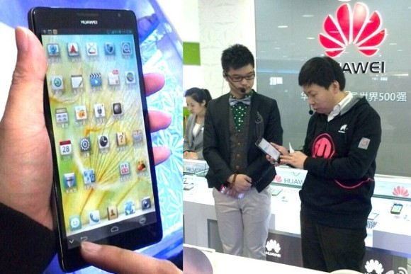 Huawei Ascend Mate: Smartlet mit 6,1 Zoll und 1080p Display zur CES 2013