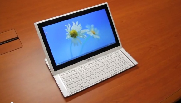 Windows 8 Slider MSI S20 im Hands-On-Video