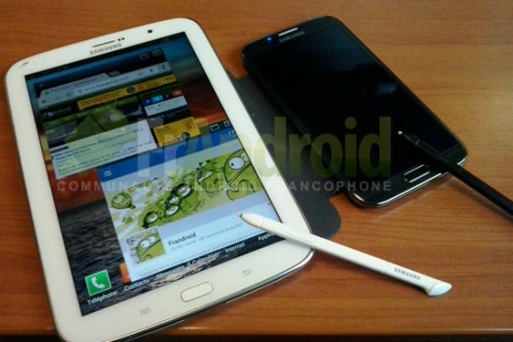 Erste Bilder des Galaxy Note 8.0 gesichtet, S-Pen bestätigt