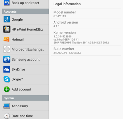 Samsung Galaxy Tab 2: Jelly Bean Update bald verfügbar?