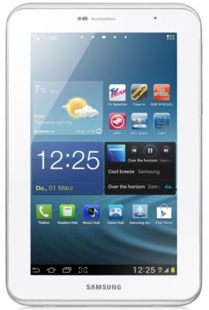 Neuauflage: Plant Samsung ein Galaxy Tab 3 mit 7 und 10 Zoll für 2013?