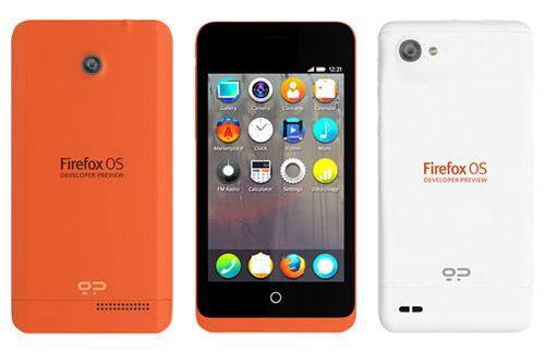 Firefox OS: Erste Entwickler-Geräte von Mozilla vorgestellt
