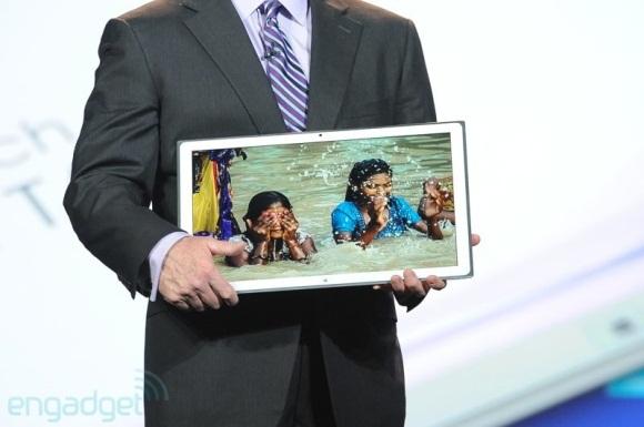CES: Panasonic stellt 20 Zoll Tablet mit 4k (Ultra-HD) Auflösung vor