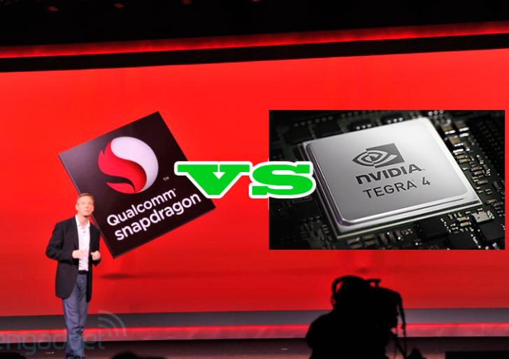 Vergleich: Nvidia Tegra 4 vs. Qualcomm Snapdragon 800