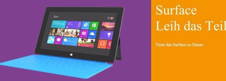 Studenten aufgepasst – Microsoft Surface kostenlos ausleihen!