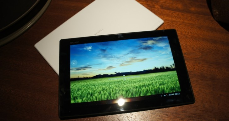 MWC: Sony Xperia Tablet Z im Kurztest – Videos & Bilder