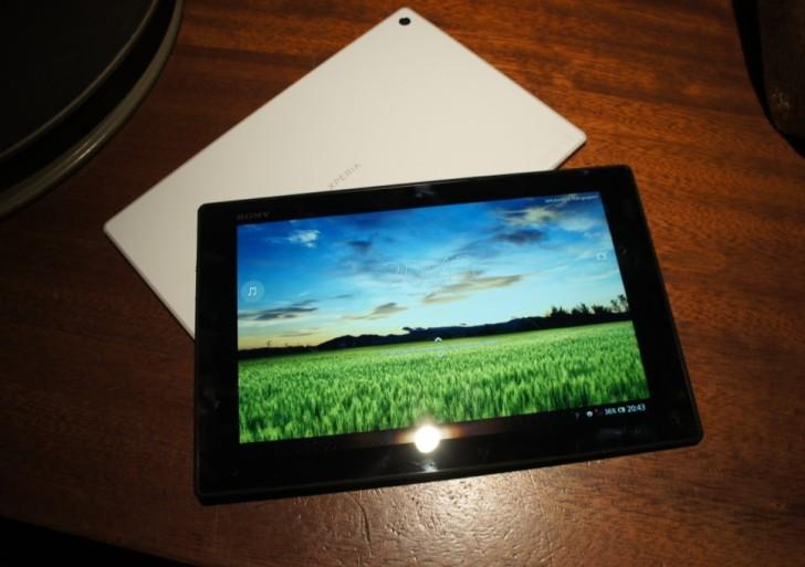 MWC: Sony Xperia Tablet Z im Kurztest – Videos & Bilder
