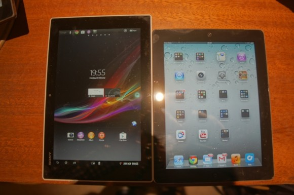 Sony Xperia Tablet Z vs. Apple iPad