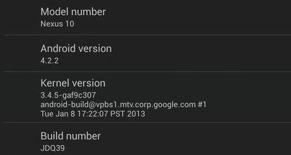 Android-Update auf 4.2.2 für Nexus-Geräte wird ausgerollt