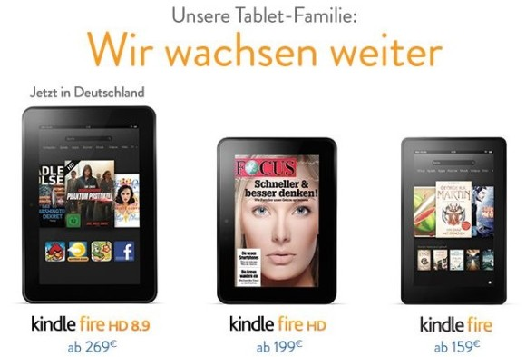 Amazon Kindle 8.9
