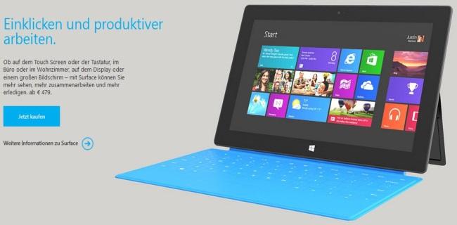Microsoft passt Anforderungen für Windows 8 an – kommen bald günstige Tablets?