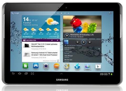 Samsung Galaxy Tab 2 wird Android 4.2.2 erhalten
