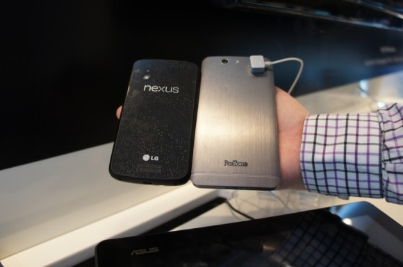 PadFone Infinity und Nexus 4