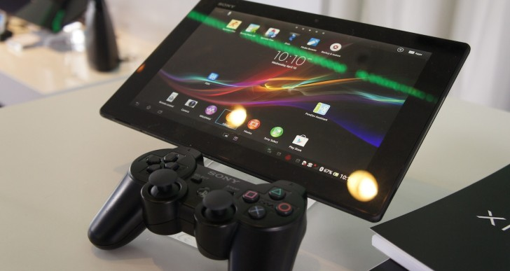 Sony Xperia Tablet Z mit Playstation 3 Controller spielen